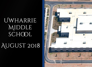 Uharrie Middle School Contruction August